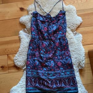 American Eagle Patterned Strappy Dress